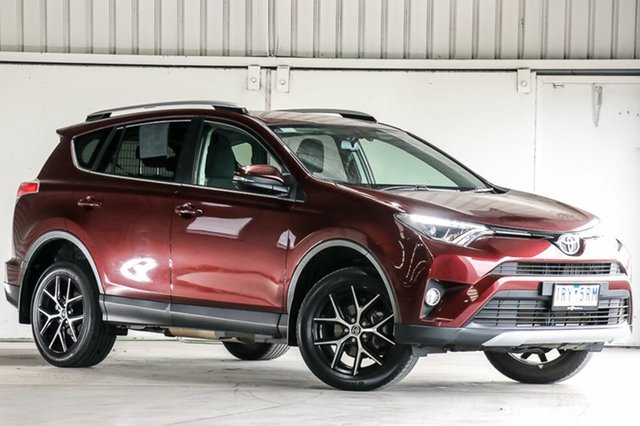 Used Toyota RAV4 ZSA42R GXL 2WD, 2017 Toyota RAV4 ZSA42R GXL 2WD Red 7 Speed Constant Variable Wagon