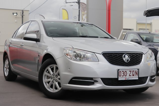 Used Holden Commodore VF MY15 Evoke, 2014 Holden Commodore VF MY15 Evoke Silver 6 Speed Sports Automatic Sedan