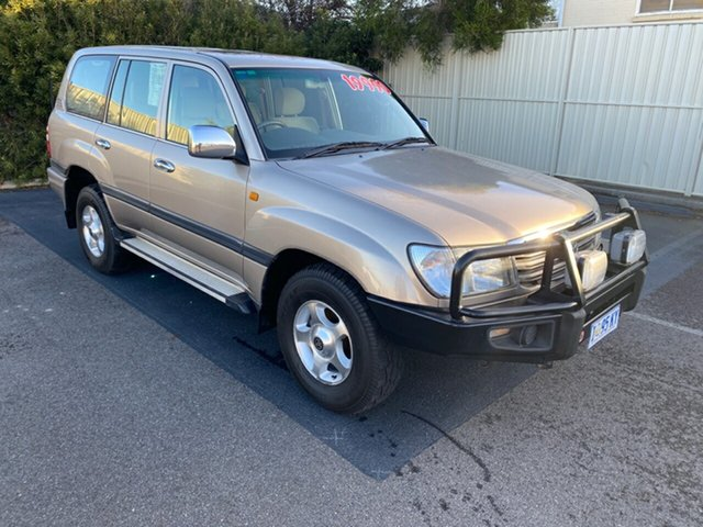 Used Toyota Landcruiser UZJ100R GXL, 2003 Toyota Landcruiser UZJ100R GXL Gold 5 Speed Automatic Wagon