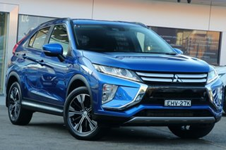 2018 Mitsubishi Eclipse Cross YA MY18 LS (2WD) Blue Continuous Variable Wagon.