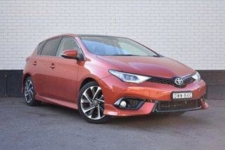 2018 Toyota Corolla ZRE182R ZR S-CVT Bronze 7 Speed Constant Variable Hatchback.