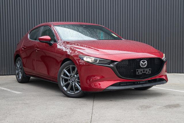 New Mazda 3 BP2H7A G20 SKYACTIV-Drive Evolve, 2020 Mazda 3 BP2H7A G20 SKYACTIV-Drive Evolve Soul Red Crystal 6 Speed Sports Automatic Hatchback