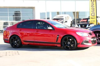 2016 Holden Special Vehicles ClubSport Gen-F2 MY16 R8 SV Black Red Hot 6 Speed Sports Automatic.