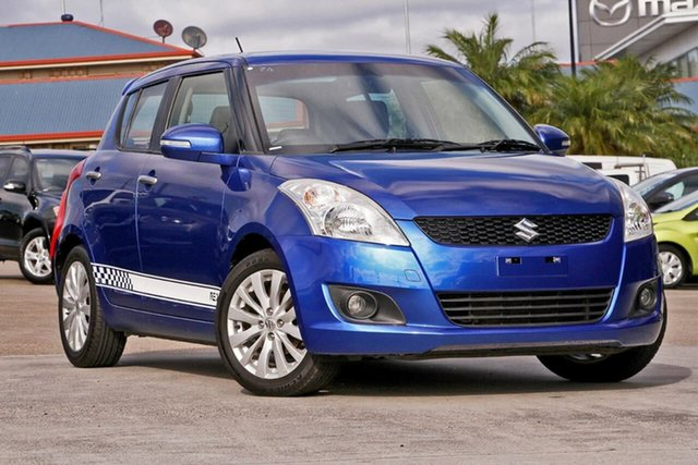 Used Suzuki Swift FZ RE2, 2012 Suzuki Swift FZ RE2 Blue 5 Speed Manual Hatchback
