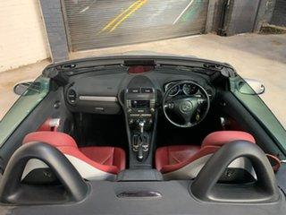 2005 Mercedes-Benz SLK-Class R171 MY06 SLK200 Kompressor Silver 5 Speed Automatic Roadster