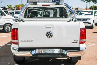 2020 Volkswagen Amarok 2H MY20 TDI550 4MOTION Perm Highline White 8 Speed Automatic Utility.
