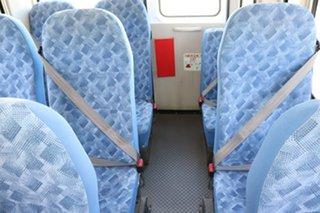 2016 Mitsubishi Fuso Rosa BE64D Deluxe White Automatic Midi Coach