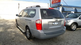 2007 Kia Grand Carnival VQ EX Silver 5 Speed Sports Automatic Wagon.