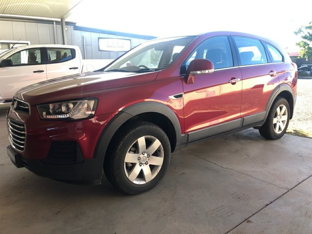 Used Holden Captiva CG MY15 7 LS Active (FWD), 2015 Holden Captiva CG MY15 7 LS Active (FWD) Red 6 Speed Automatic Wagon