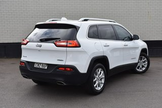 2015 Jeep Cherokee KL MY15 Longitude White 9 Speed Sports Automatic Wagon