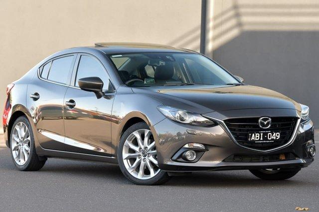 Used Mazda 3 BM5238 SP25 SKYACTIV-Drive GT, 2014 Mazda 3 BM5238 SP25 SKYACTIV-Drive GT Brown 6 Speed Sports Automatic Sedan