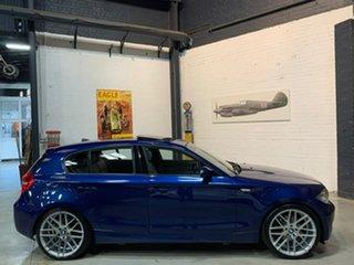2008 BMW 118i E87 MY07 118i Blue 6 Speed Automatic Hatchback.