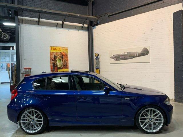 Used BMW 118i E87 MY07 118i, 2008 BMW 118i E87 MY07 118i Blue 6 Speed Automatic Hatchback