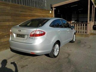 2010 Ford Fiesta WT LX Silver 5 Speed Manual Sedan.