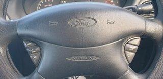 2002 Ford Falcon AU III Futura Blue 4 Speed Automatic Wagon
