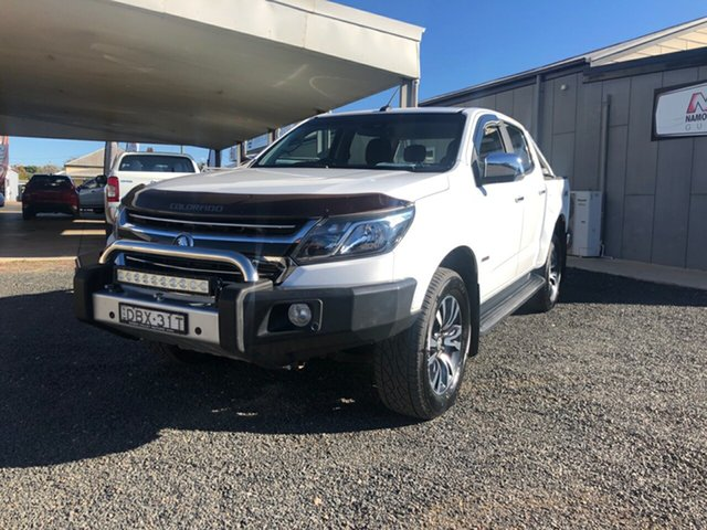 Used Holden Colorado RG MY17 LTZ (4x4), 2016 Holden Colorado RG MY17 LTZ (4x4) Summit White 6 Speed Automatic Crew Cab Pickup