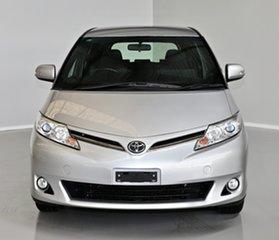 2017 Toyota Tarago ACR50R GLi Silver 7 Speed Constant Variable Wagon.