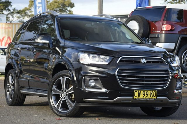 Used Holden Captiva CG MY18 LTZ AWD, 2018 Holden Captiva CG MY18 LTZ AWD Black 6 Speed Sports Automatic Wagon