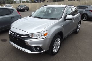 2018 Mitsubishi ASX XC MY19 ES 2WD Silver 1 Speed Constant Variable Wagon.