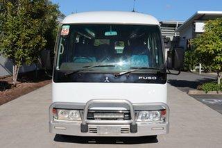 2016 Mitsubishi Fuso Rosa BE64D Deluxe White Automatic Midi Coach.