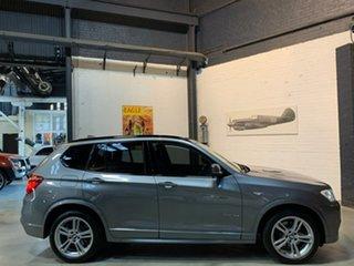 2011 BMW X3 F25 MY1011 xDrive30d Steptronic Grey 8 Speed Automatic Wagon.