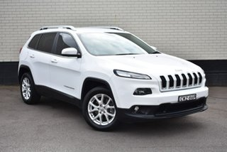 2015 Jeep Cherokee KL MY15 Longitude White 9 Speed Sports Automatic Wagon.