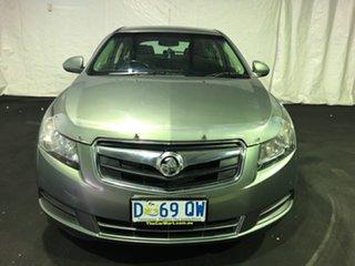 2014 Holden Cruze JH Series II MY14 SRi Prussian Steel 6 Speed Manual Hatchback.