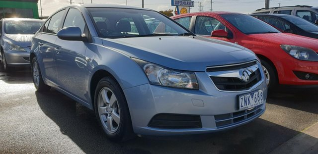 Used Holden Cruze JG CD Cheltenham, 2010 Holden Cruze JG CD Blue 5 Speed Manual Sedan
