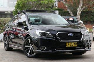 2015 Subaru Liberty MY15 3.6R Black Continuous Variable Sedan.