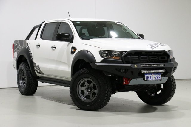 Used Ford Ranger PX MkIII MY20.25 XLS 3.2 (4x4), 2020 Ford Ranger PX MkIII MY20.25 XLS 3.2 (4x4) White 6 Speed Automatic Double Cab Pickup