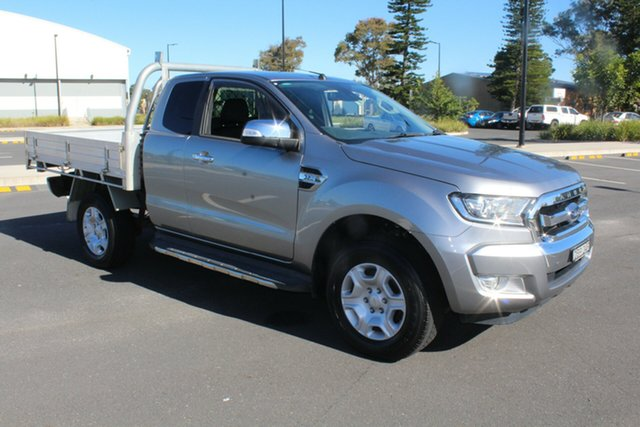 Used Ford Ranger PX MkII XLT Super Cab 4x2 Hi-Rider, 2015 Ford Ranger PX MkII XLT Super Cab 4x2 Hi-Rider Aluminium 6 Speed Sports Automatic Utility