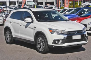 2019 Mitsubishi ASX XC MY19 LS 2WD White 6 Speed Constant Variable Wagon.