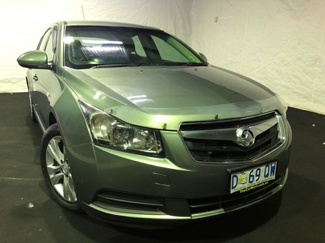Used Holden Cruze JH Series II MY14 SRi, 2014 Holden Cruze JH Series II MY14 SRi Prussian Steel 6 Speed Manual Hatchback