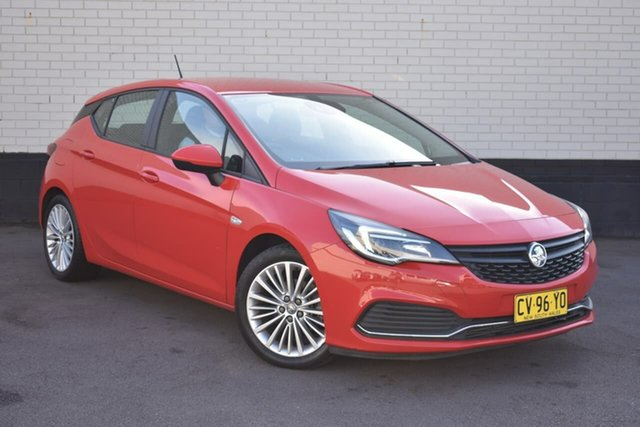 Used Holden Astra BK MY17 R, 2017 Holden Astra BK MY17 R Red 6 Speed Sports Automatic Hatchback