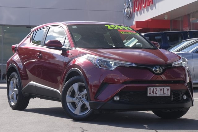 Used Toyota C-HR NGX10R S-CVT 2WD, 2018 Toyota C-HR NGX10R S-CVT 2WD Atomic Rush 7 Speed Constant Variable Wagon