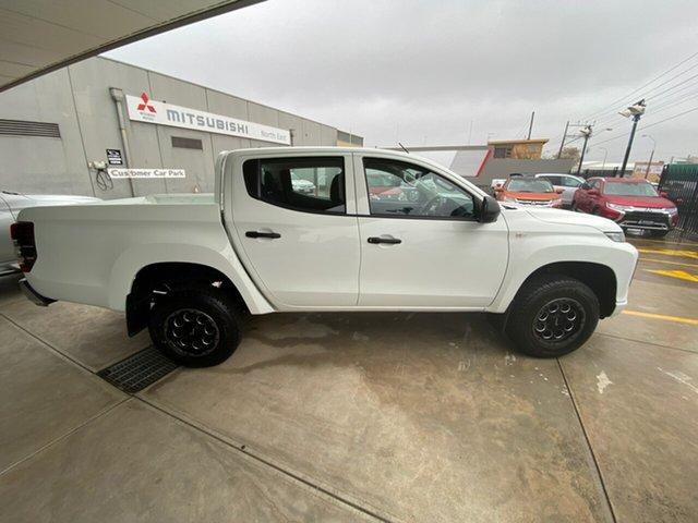 Demo Mitsubishi Triton MR MY20 GLX Double Cab, 2019 Mitsubishi Triton MR MY20 GLX Double Cab White 6 Speed Manual Utility