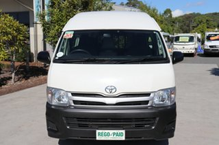 2013 Toyota HiAce TRH223R MY12 Commuter White 4 speed Automatic Bus.