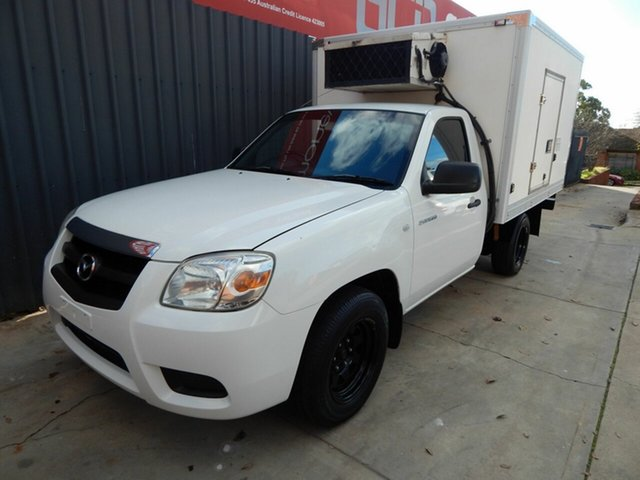 Used Mazda BT-50 UNY0W4 DX 4x2, 2010 Mazda BT-50 UNY0W4 DX 4x2 White 5 Speed Manual Cab Chassis