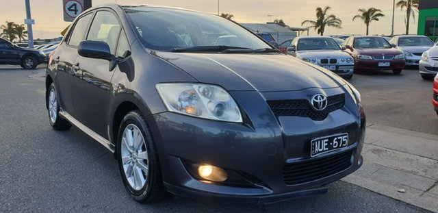 Used Toyota Corolla ZRE152R Levin SX, 2009 Toyota Corolla ZRE152R Levin SX Grey 6 Speed Manual Hatchback