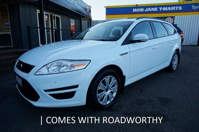 Used Ford Mondeo MC LX, 2014 Ford Mondeo MC LX Frozen White 6 Speed Sports Automatic Wagon