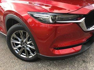 2020 Mazda CX-5 KF4WLA Akera SKYACTIV-Drive i-ACTIV AWD Soul Red 6 Speed Sports Automatic Wagon.