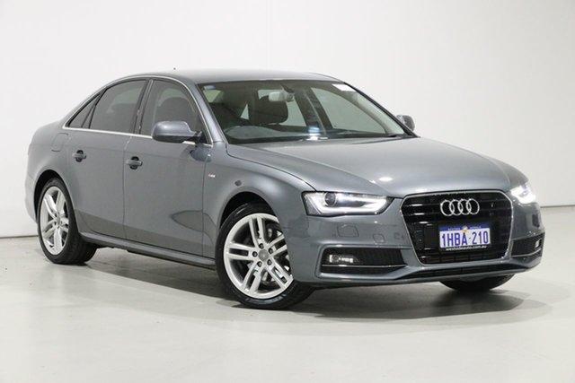Used Audi A4 B8 (8K) MY15 1.8 TFSI S-Line LE, 2015 Audi A4 B8 (8K) MY15 1.8 TFSI S-Line LE Grey CVT Multitronic Sedan