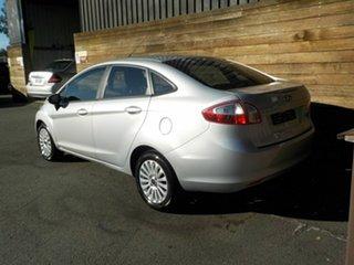 2010 Ford Fiesta WT LX Silver 5 Speed Manual Sedan