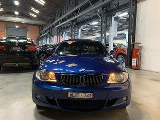 2008 BMW 118i E87 MY07 118i Blue 6 Speed Automatic Hatchback