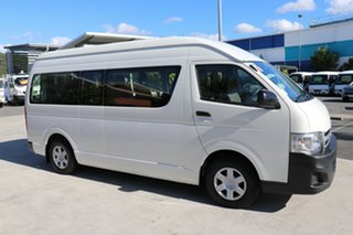 2013 Toyota HiAce TRH223R MY12 Commuter White 4 speed Automatic Bus