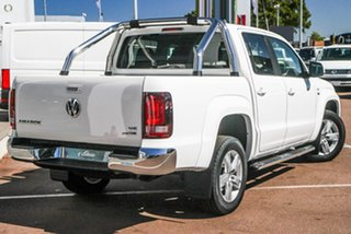 2020 Volkswagen Amarok 2H MY20 TDI550 4MOTION Perm Highline White 8 Speed Automatic Utility