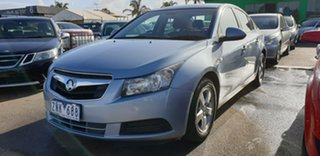 2010 Holden Cruze JG CD Blue 5 Speed Manual Sedan.