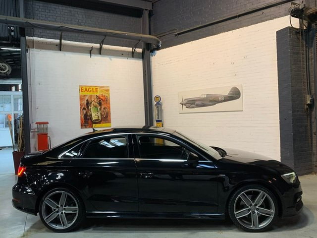 Used Audi A3 8V MY16 Ambition S Tronic Quattro, 2015 Audi A3 8V MY16 Ambition S Tronic Quattro Black 6 Speed Sports Automatic Dual Clutch Sedan
