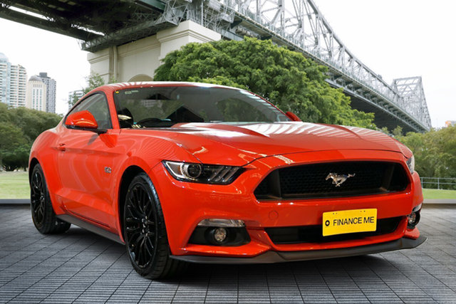 Used Ford Mustang FM 2017MY GT Fastback SelectShift, 2016 Ford Mustang FM 2017MY GT Fastback SelectShift Red 6 Speed Sports Automatic Fastback