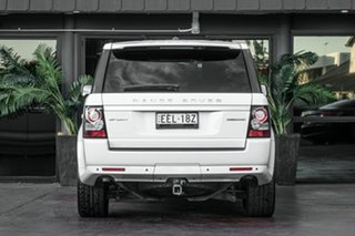 2012 Land Rover Range Rover Sport L320 13MY SDV6 Luxury White 6 Speed Sports Automatic Wagon